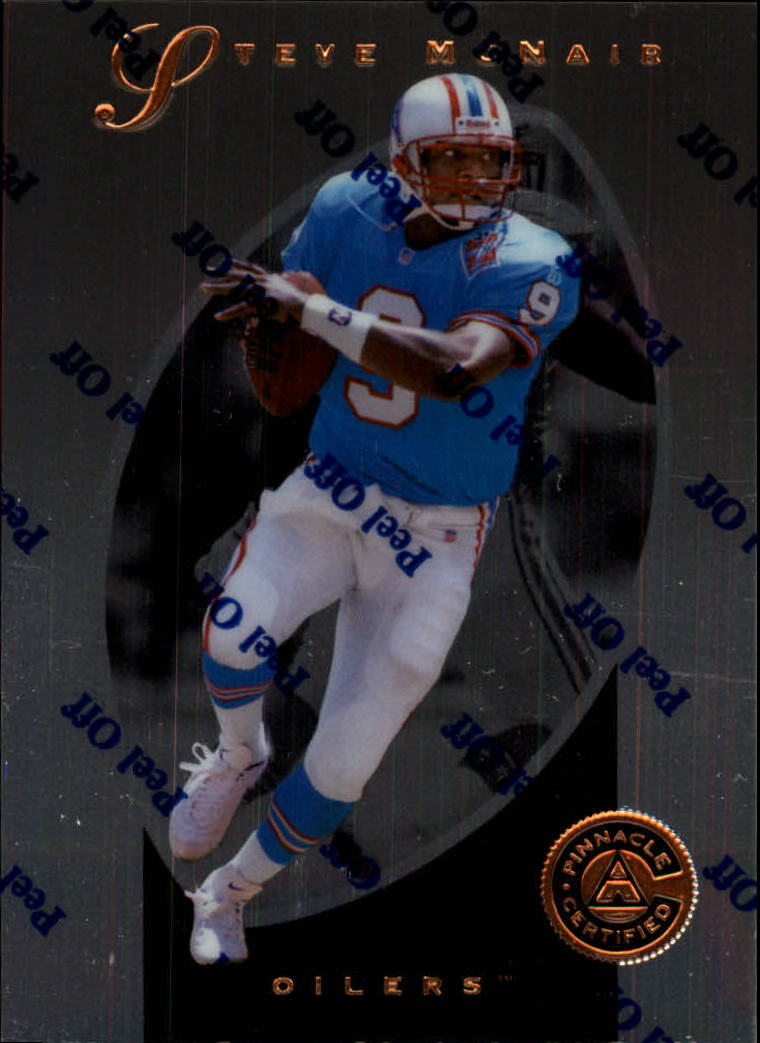1997 Pinnacle Certified #30 Steve McNair