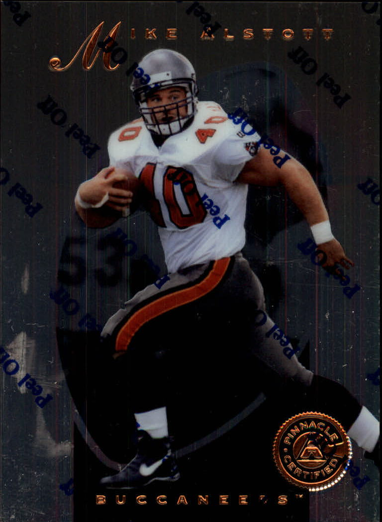 1997 Pinnacle Certified #89 Mike Alstott
