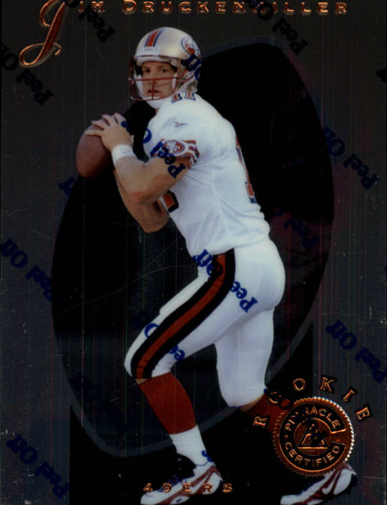 1997 Pinnacle Certified #122 Jim Druckenmiller RC