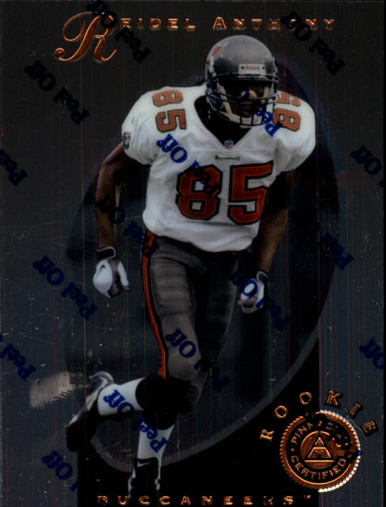 1997 Pinnacle Certified #125 Reidel Anthony RC