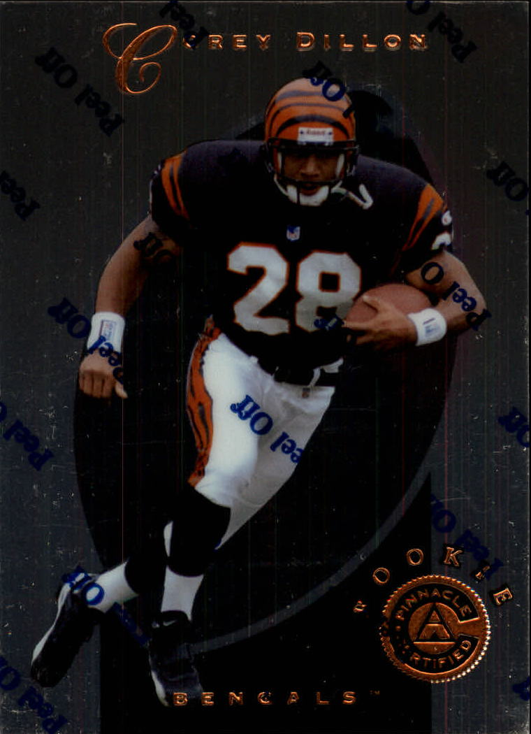 1997 Pinnacle Certified #145 Corey Dillon RC
