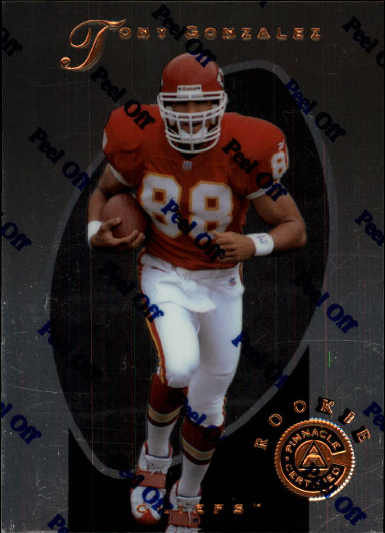 1997 Pinnacle Certified #149 Tony Gonzalez RC