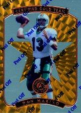 1997 Pinnacle Certified Certified Team Gold #2 Dan Marino
