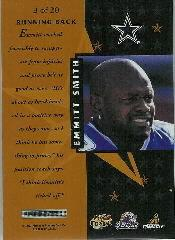 1997 Pinnacle Certified Certified Team Gold #3 Emmitt Smith