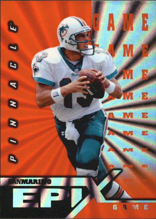 1997 Pinnacle Certified Epix #E17 D.Marino GAME