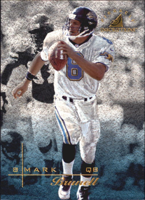 1997 Pinnacle Inscriptions #1 Mark Brunell