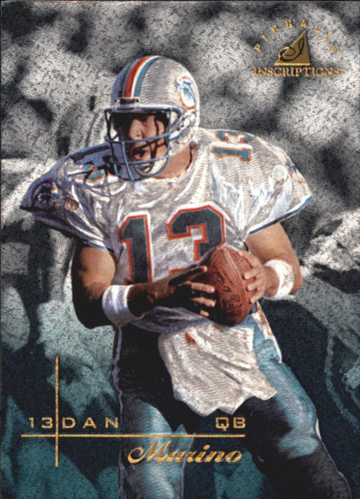 1997 Pinnacle Inscriptions #13 Dan Marino