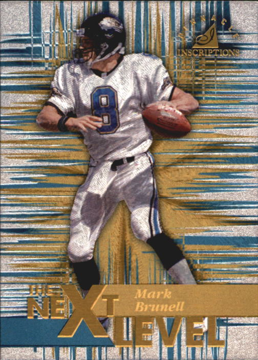 1997 Pinnacle Inscriptions #31 Mark Brunell TNL