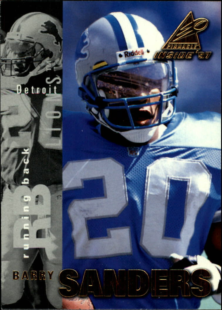 1997 Pinnacle Inside #3 Barry Sanders