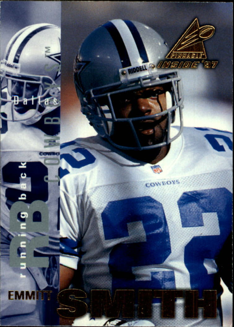 1997 Pinnacle Inside #6 Emmitt Smith
