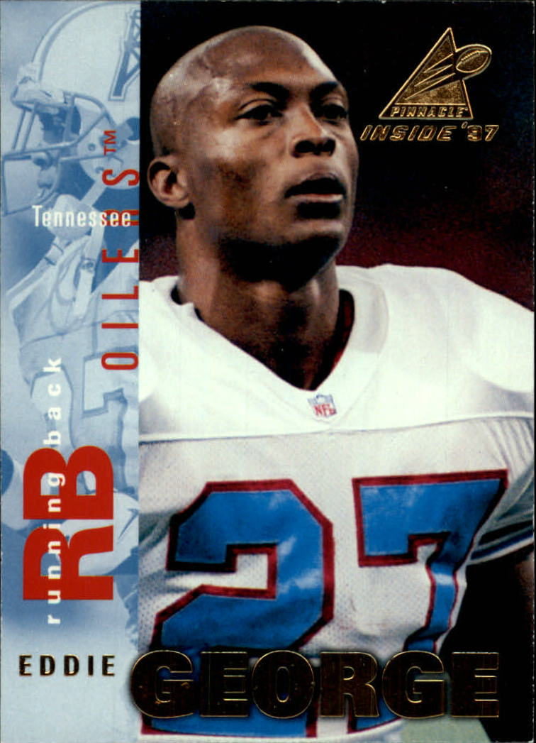 1997 Pinnacle Inside #13 Eddie George