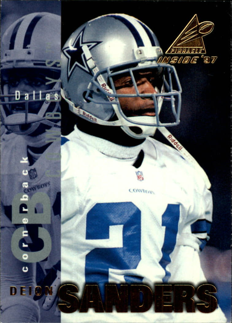 1997 Pinnacle Inside #17 Deion Sanders