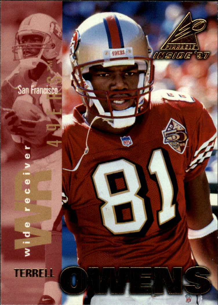 1997 Pinnacle Inside #18 Terrell Owens front image