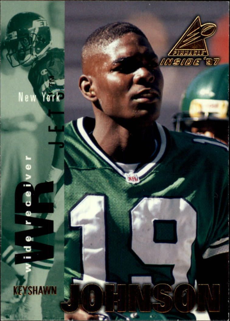 1997 Pinnacle Inside #67 Keyshawn Johnson