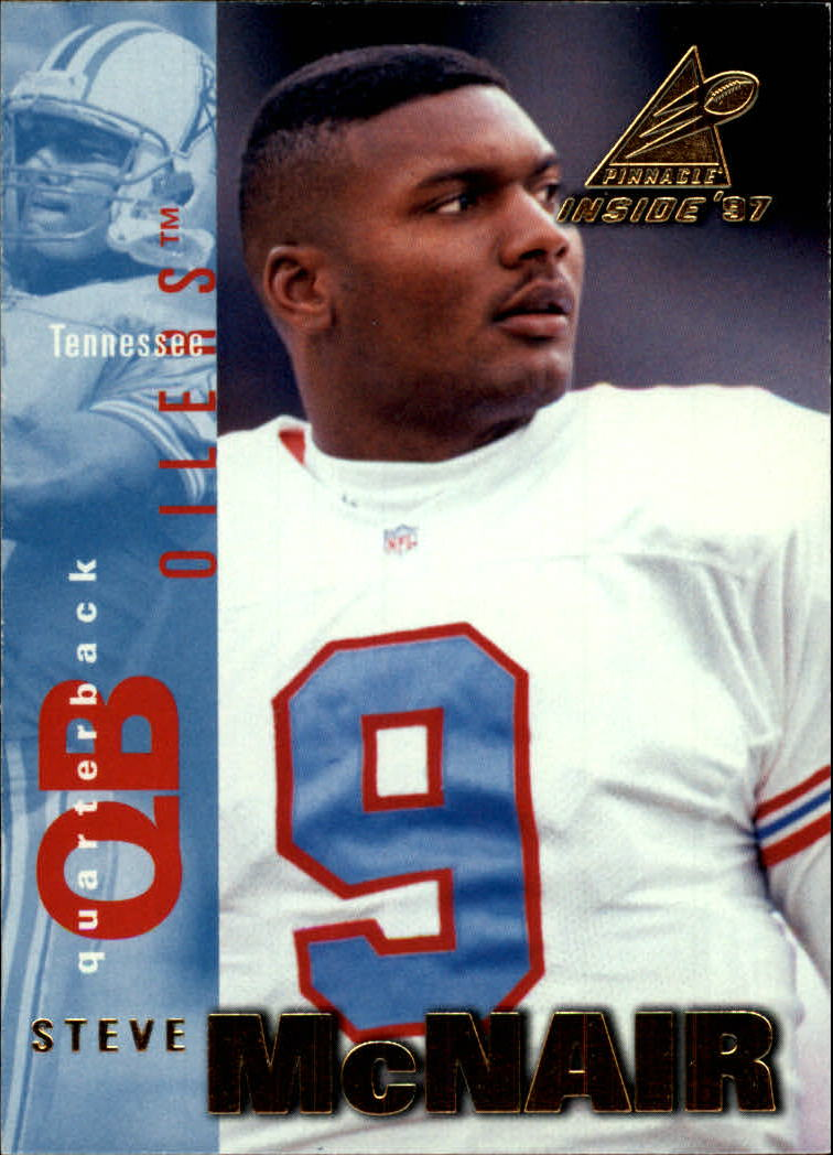 1997 Pinnacle Inside #95 Steve McNair