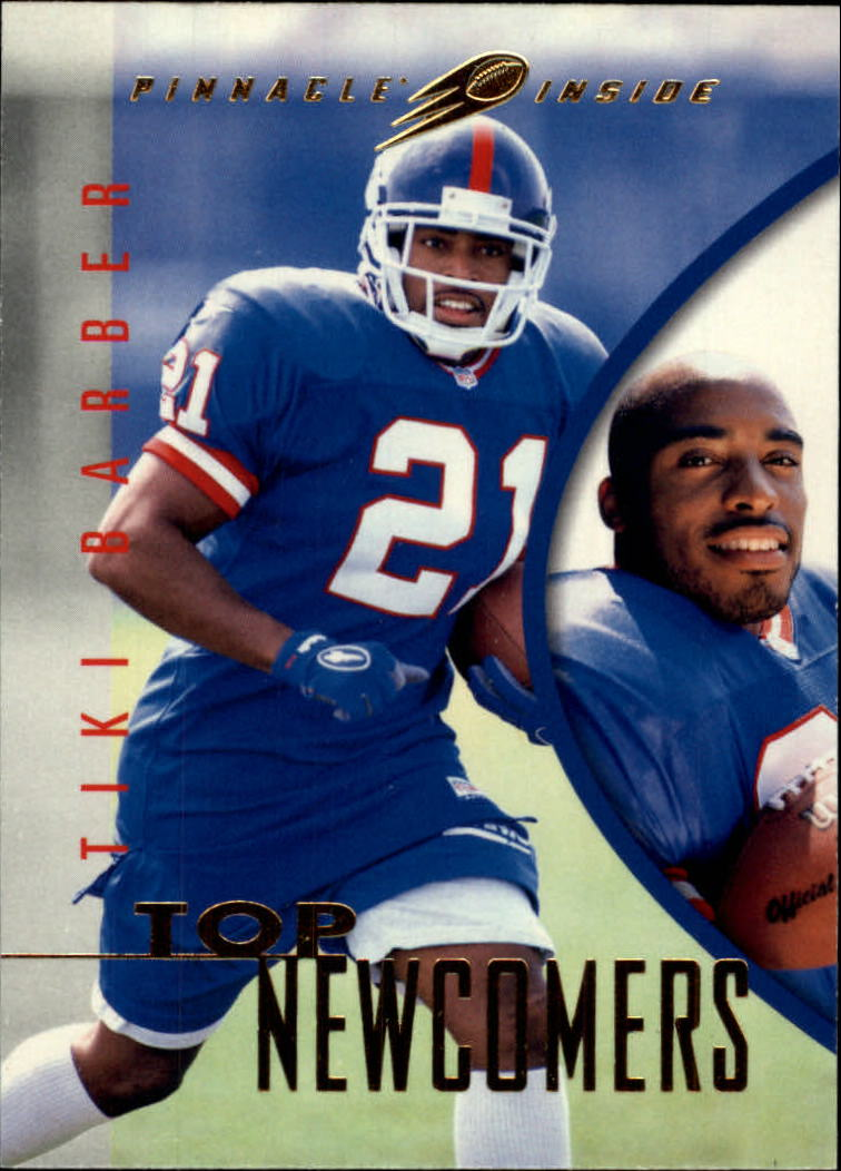 1997 Pinnacle Inside #121 Tiki Barber RC