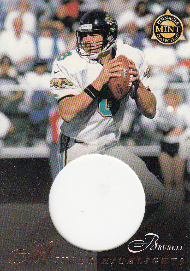 1997 Pinnacle Mint Die Cuts #23 Mark Brunell MH