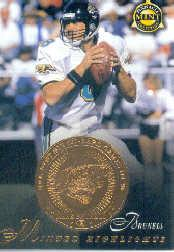 1997 Pinnacle Mint Coins Brass #23 Mark Brunell MH
