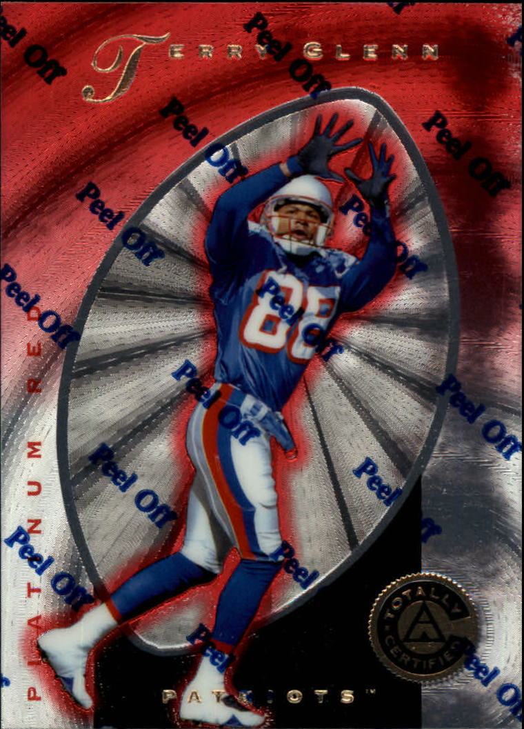 1997 Pinnacle Totally Certified Platinum Red #19 Terry Glenn