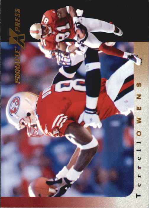 1997 Pinnacle X-Press #91 Terrell Owens