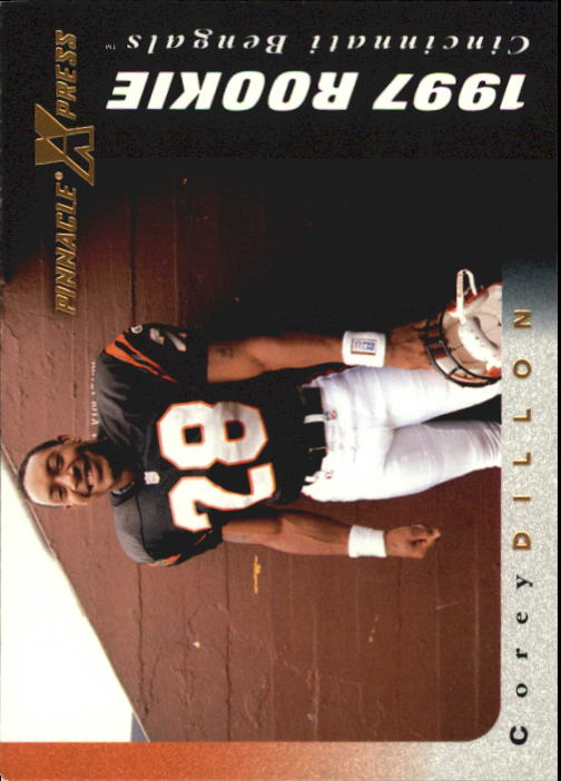 1997 Pinnacle X-Press #126 Corey Dillon RC