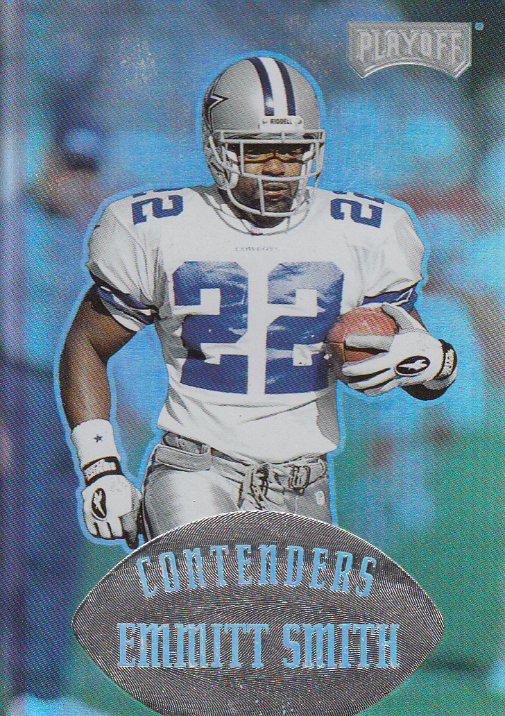 1997 Playoff Contenders #37 Emmitt Smith front image