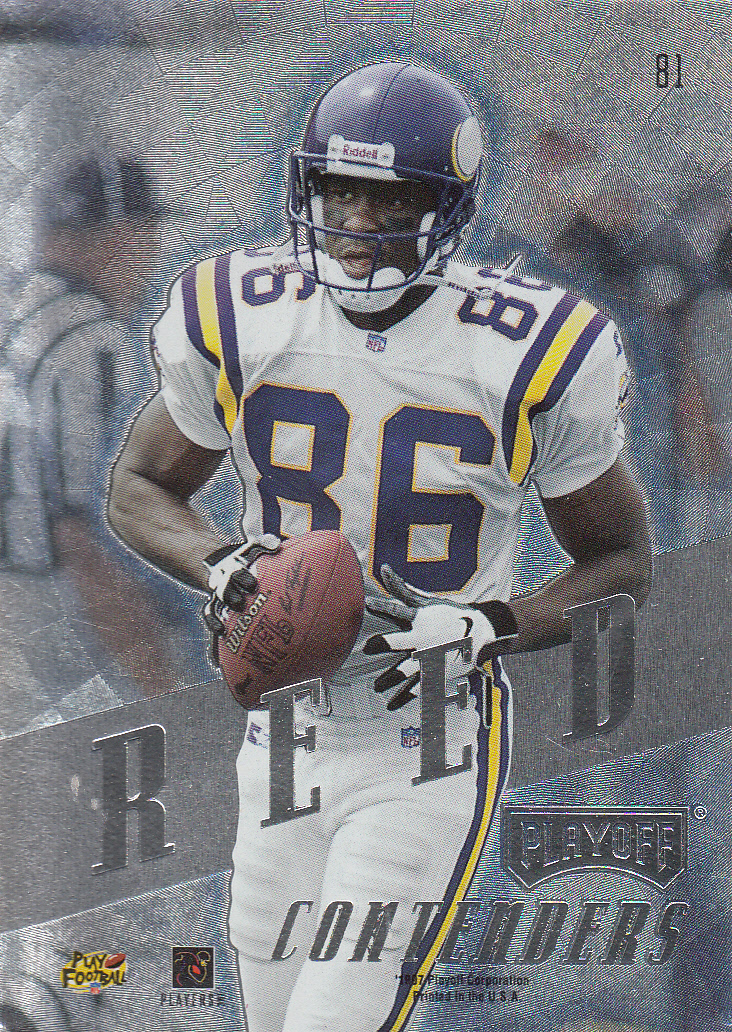 1997 Playoff Contenders #80 Cris Carter back image