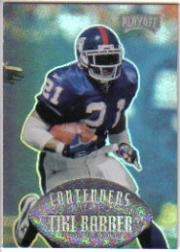 1997 Playoff Contenders #95 Tiki Barber RC
