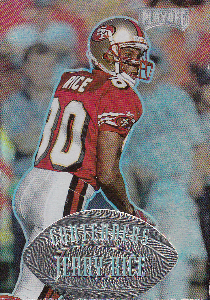 1997 Playoff Contenders #121 Jerry Rice front image