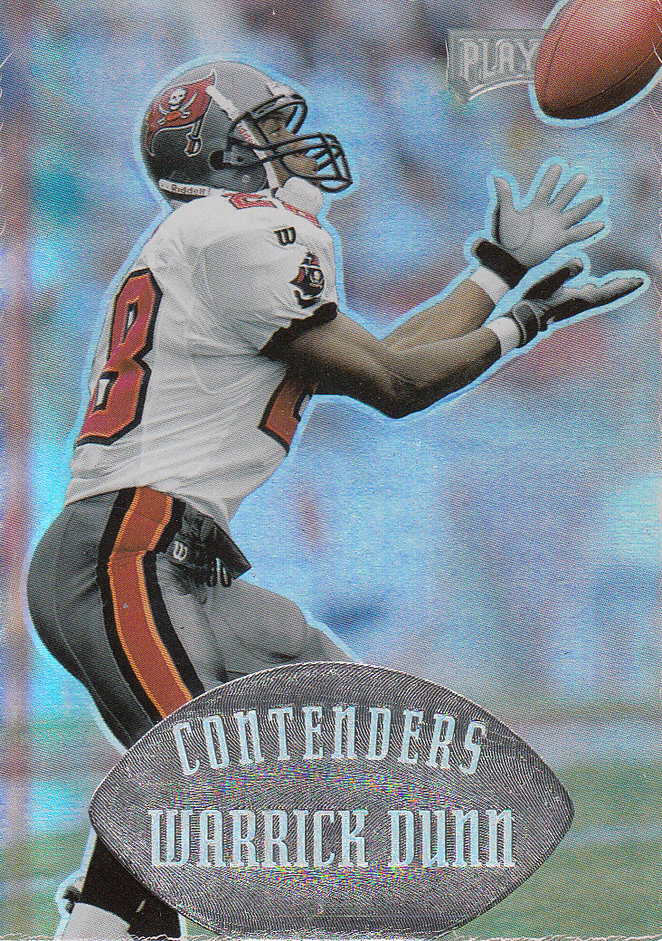 1997 Playoff Contenders #141 Warrick Dunn RC