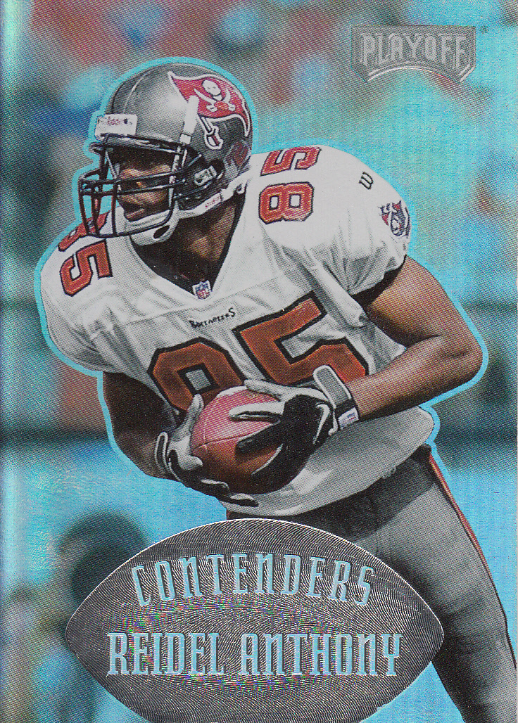 1997 Playoff Contenders #142 Reidel Anthony RC