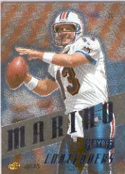 1997 Playoff Contenders Blue #74 Dan Marino back image