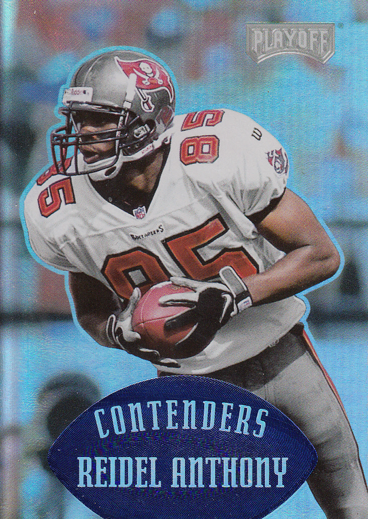 1997 Playoff Contenders Blue #142 Reidel Anthony