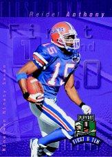 1997 Playoff First and Ten #14 Reidel Anthony RC