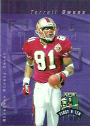 1997 Playoff First and Ten #44 Terrell Owens