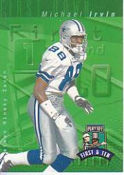 1997 Playoff First and Ten #88 Michael Irvin