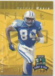 1997 Playoff First and Ten #117 Herman Moore