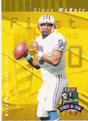 1997 Playoff First and Ten #120 Steve McNair