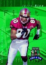 1997 Playoff First and Ten #193 Jerry Rice