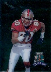 1997 Playoff First and Ten Kickoff #193 Jerry Rice