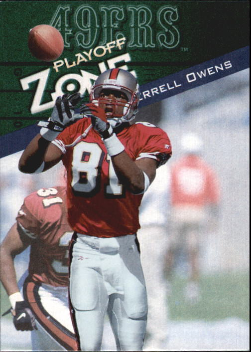 1997 Playoff Zone #52 Terrell Owens