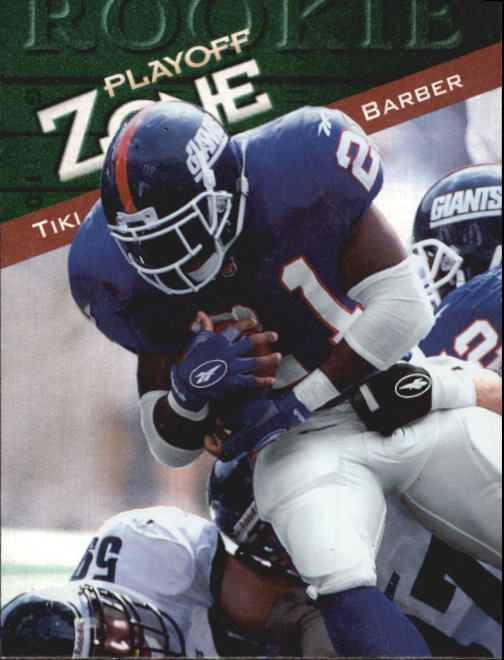 1997 Playoff Zone #140 Tiki Barber RC