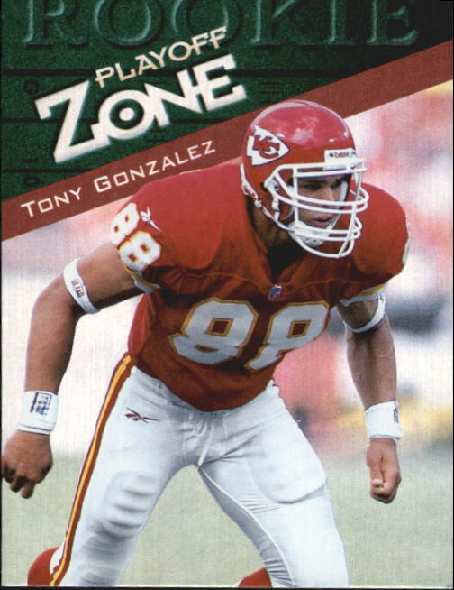 1997 Playoff Zone #144 Tony Gonzalez RC