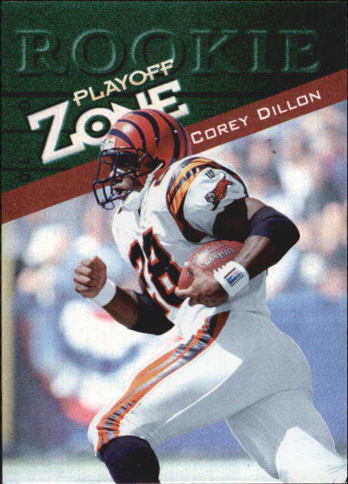 1997 Playoff Zone #149 Corey Dillon RC