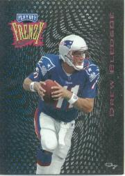 1997 Playoff Zone Frenzy #4 Drew Bledsoe