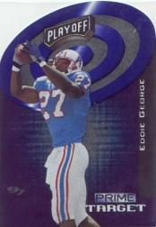 1997 Playoff Zone Prime Target #8 Eddie George