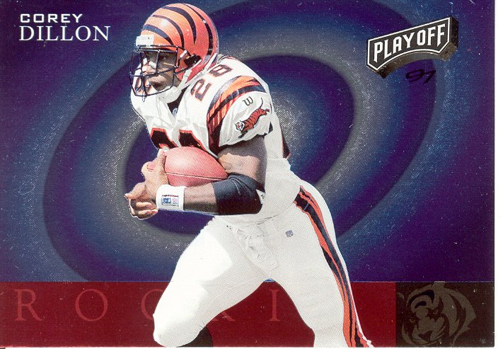 1997 Playoff Zone Rookies #10 Corey Dillon