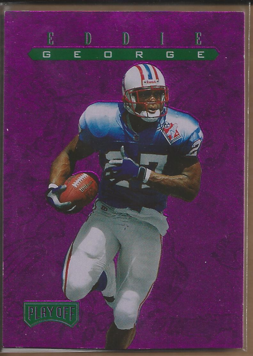 1997 Playoff Zone Treasures #12 Eddie George