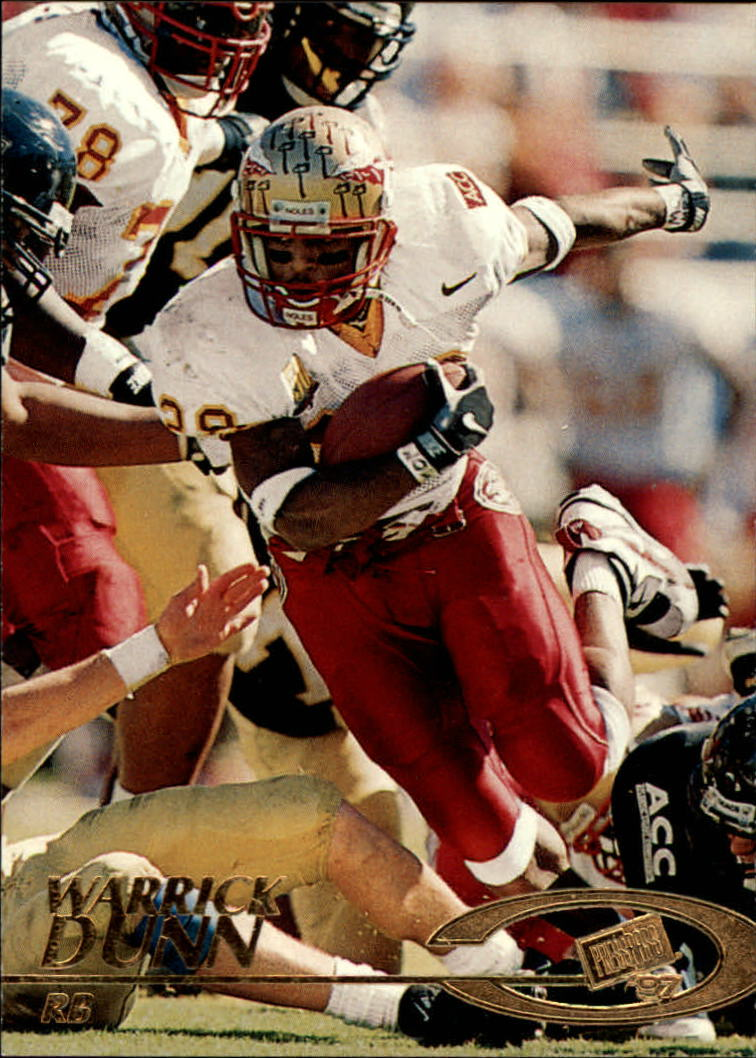 1997 Press Pass #2 Warrick Dunn