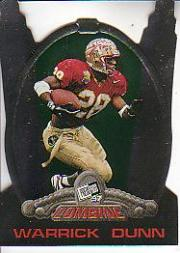 1997 Press Pass Combine #2 Warrick Dunn